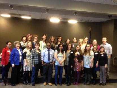 All of the authors who participated in NoVaTEEN. A GREAT group!
