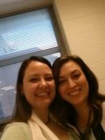 I got to meet my Agent-Sister Elisa Nader! She's wonderful