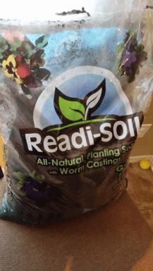 Soil for seeds