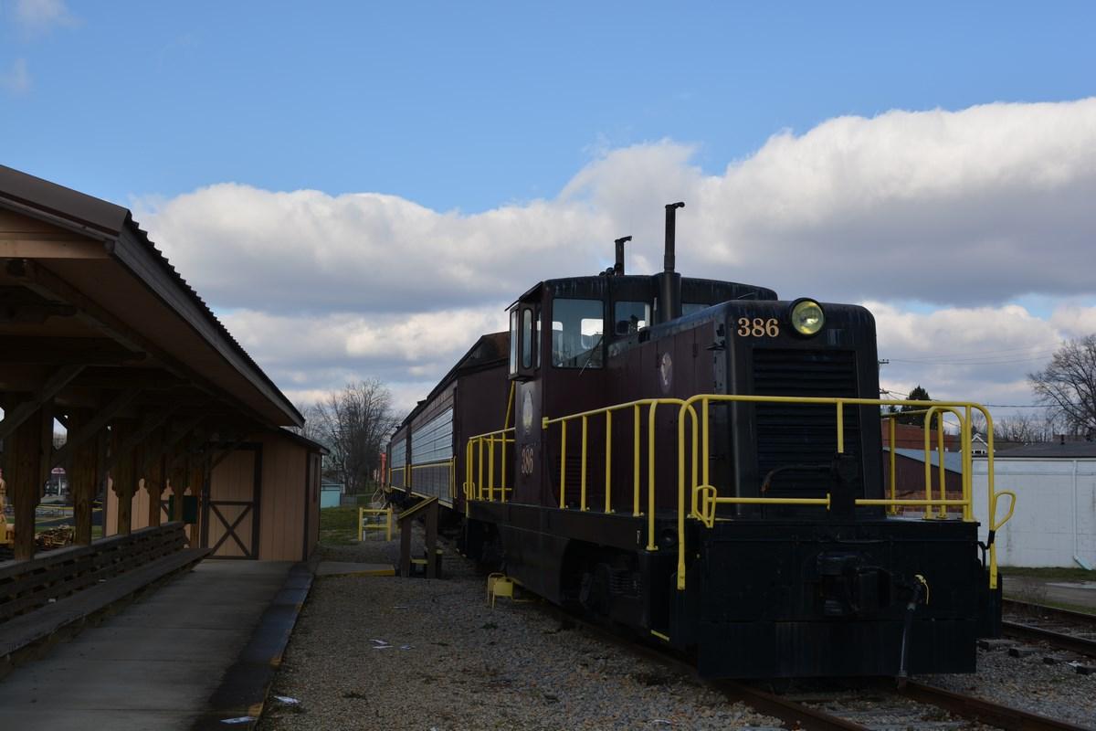 Byesville Scenic Railroad Train