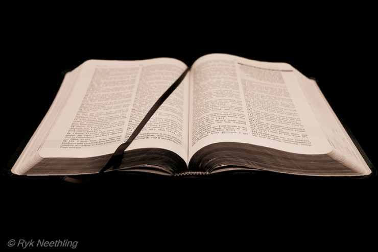 Open Bible by Ryk Neethling Flickr