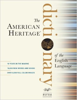 American Heritage Dictionary AHD