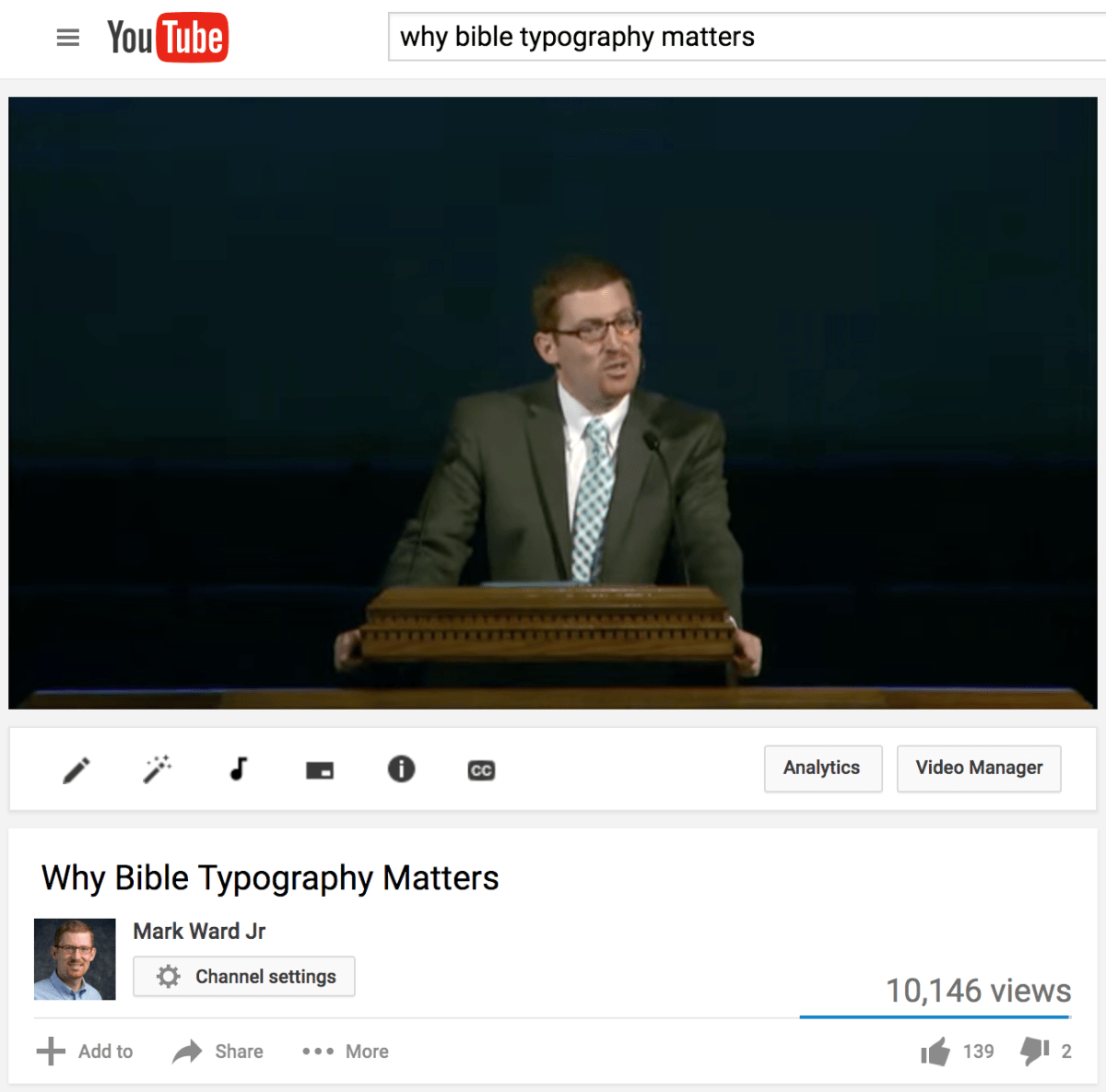 How to Listen to Lots of Lectures and Sermons and YouTube Videos