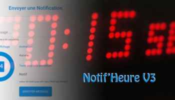 DIY Horloge et Notification Domotique ( Matrix LED ) avec