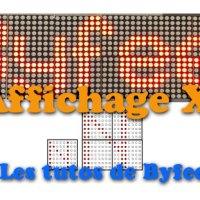 Affichage XL pour Matrice LED 72xx