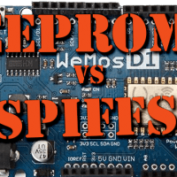 EEPROM ou SPIFFS (module ESP8266) ?
