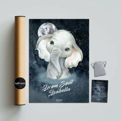 Elefant Drømmefanger plakat