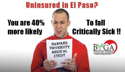 El Paso Uninsured Critically Sick