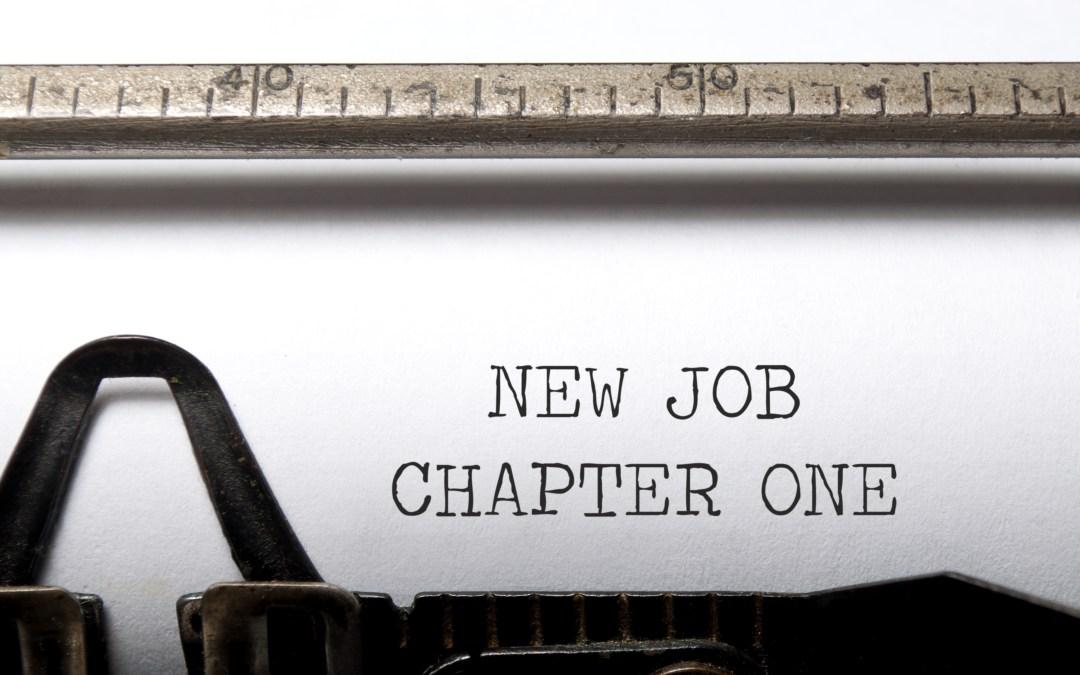 New Year, New Goals, New Job!