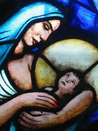 Gunnar Tornhamns Maria med Jesubarnet.