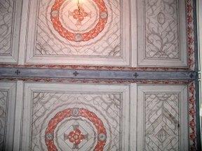 Dekorativt måleri i Bäckseda kyrka