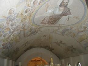 Översikt, takmålningarna i Gislaveds kyrka.