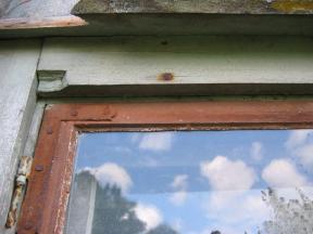 Gamla fönsterbågar håller länge.