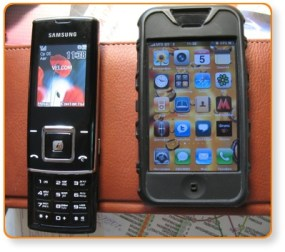 Samsung + iPhone