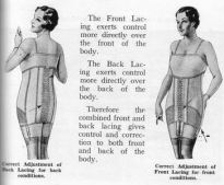 "A ""posture"" corset from the 1930s"