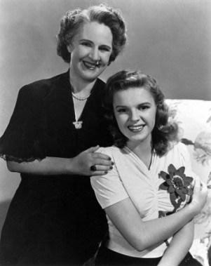 Ethel Gumm and her daughter, Frances Ethel Gumm aka Judy Garland