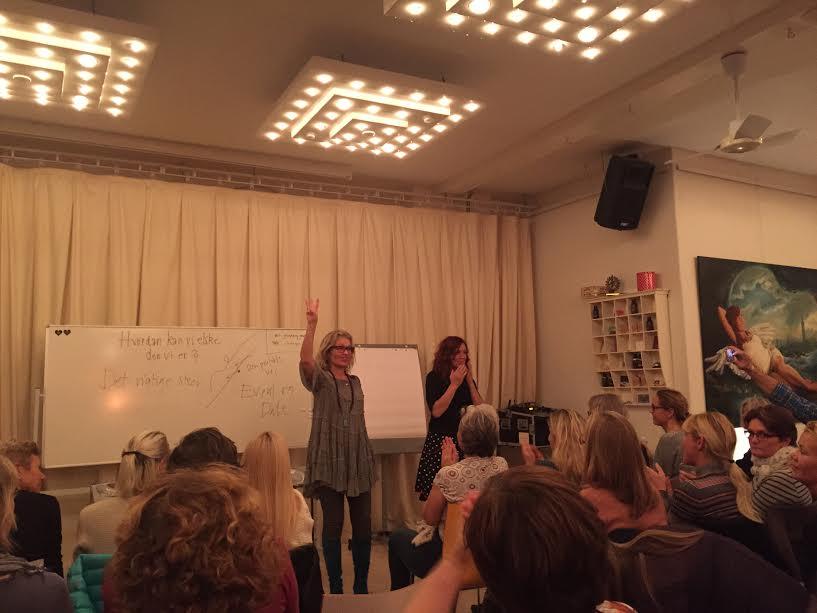 Charlotte Fruergaard og Joan Ørting – What a cocktail :-)