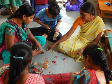 Artisans involved in jewellery production