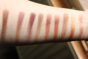 some swatches of my favourite shades!
