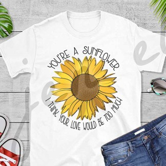 Posty Sunflower Mock-Up