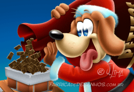 merry-christmas-good-card-parties-gift-mascote-mascot-design-character-personagem-dog-cachorro-cao-natal-presente-cartao-desenho-2016-illustration-papai-noel