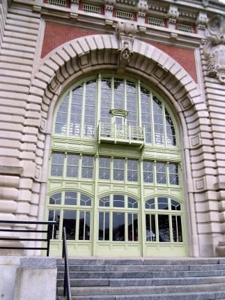 Entrance Door to Ellis Island