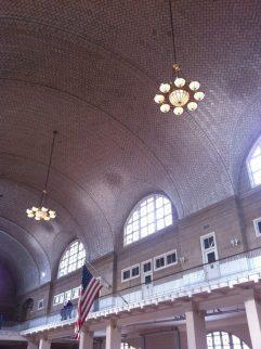 Ellis Island Ceiling