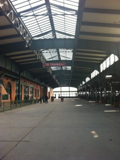 The NJ Train Station