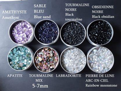 labradonite obsidienne