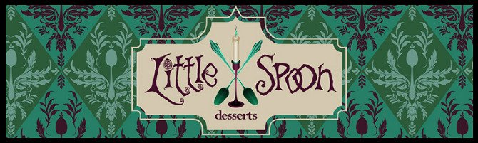 little spoon desserts food truck logo