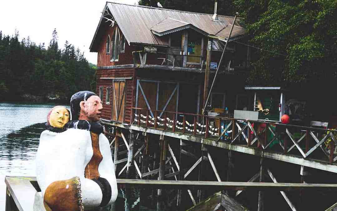 A Mystic Journey to The Saltry Restaurant in Halibut Cove, Alaska