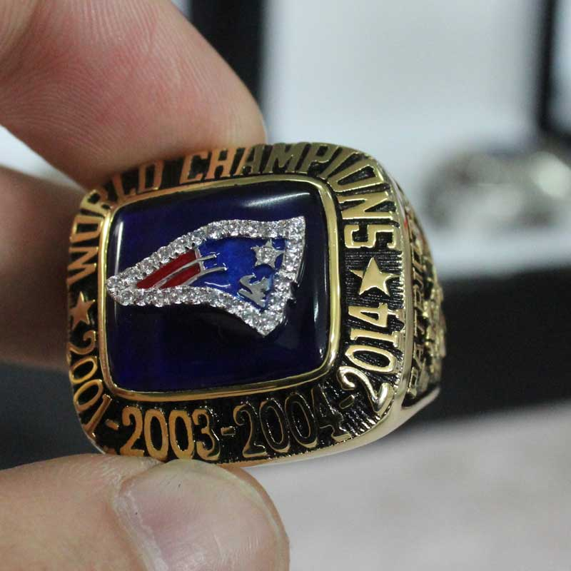 England Rings Patriots New Championship