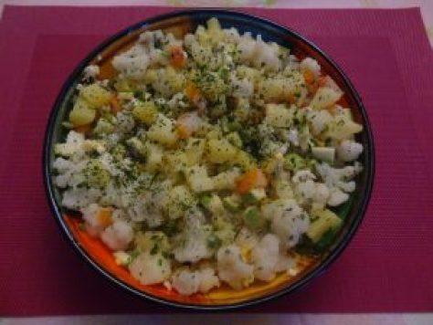 salade chou fleur haddock 2