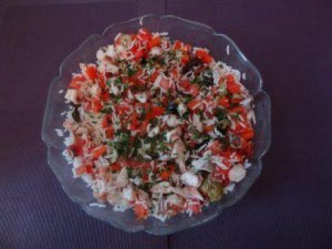 salade de riz à l'espagnole 2