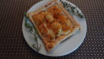 tarte peche orange1