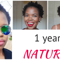 1 year of natural hair: thoughts & lessons
