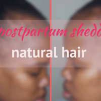 6 months postpartum shedding update