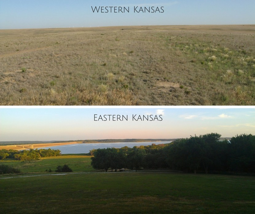 Western Versus Eastern Kansas