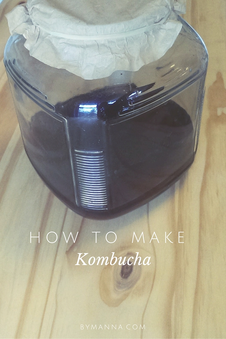 Kombucha Pinterest Graphic