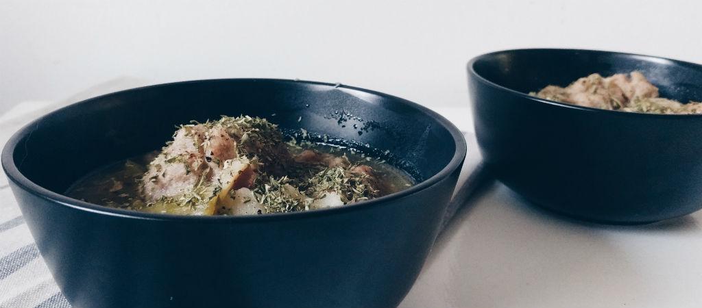 By Manna chicken dumpling soup recipe
