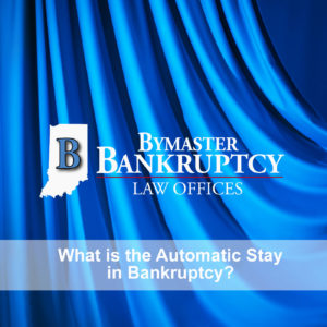 What is the automatic stay in bankruptcy?