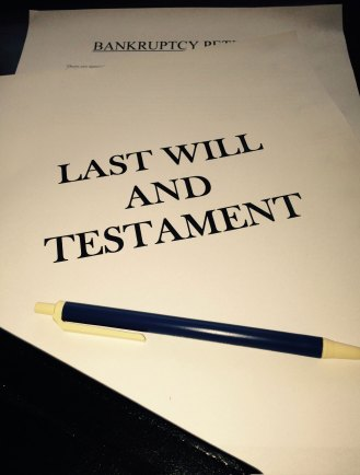 Image of a Will and Bankruptcy Petition