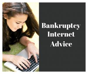 Bankruptcy Internet Advice