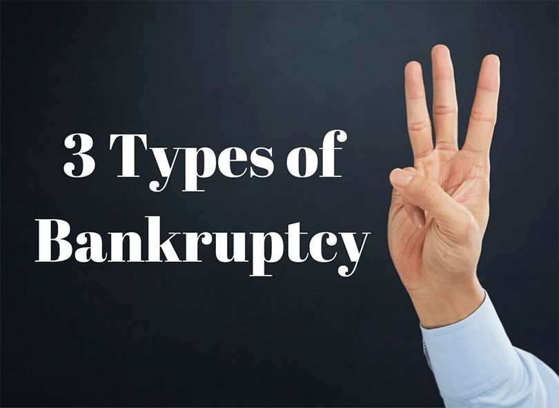 3 Types of Bankruptcy