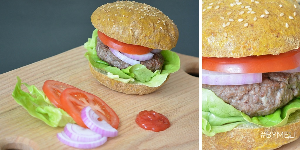 Low carb hamburger (paleo e senza glutine)