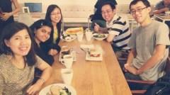 me, Swati, Jane, Chan and Liang