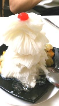 snow ice cream (almond)