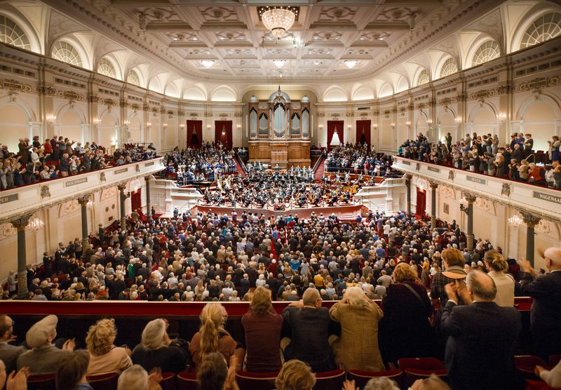 Free things to do in Amsterdam: the Concertgebouw on Tuesday