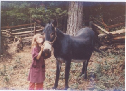 Betsy was a dear companion for many years, I was about 7 in this picture.