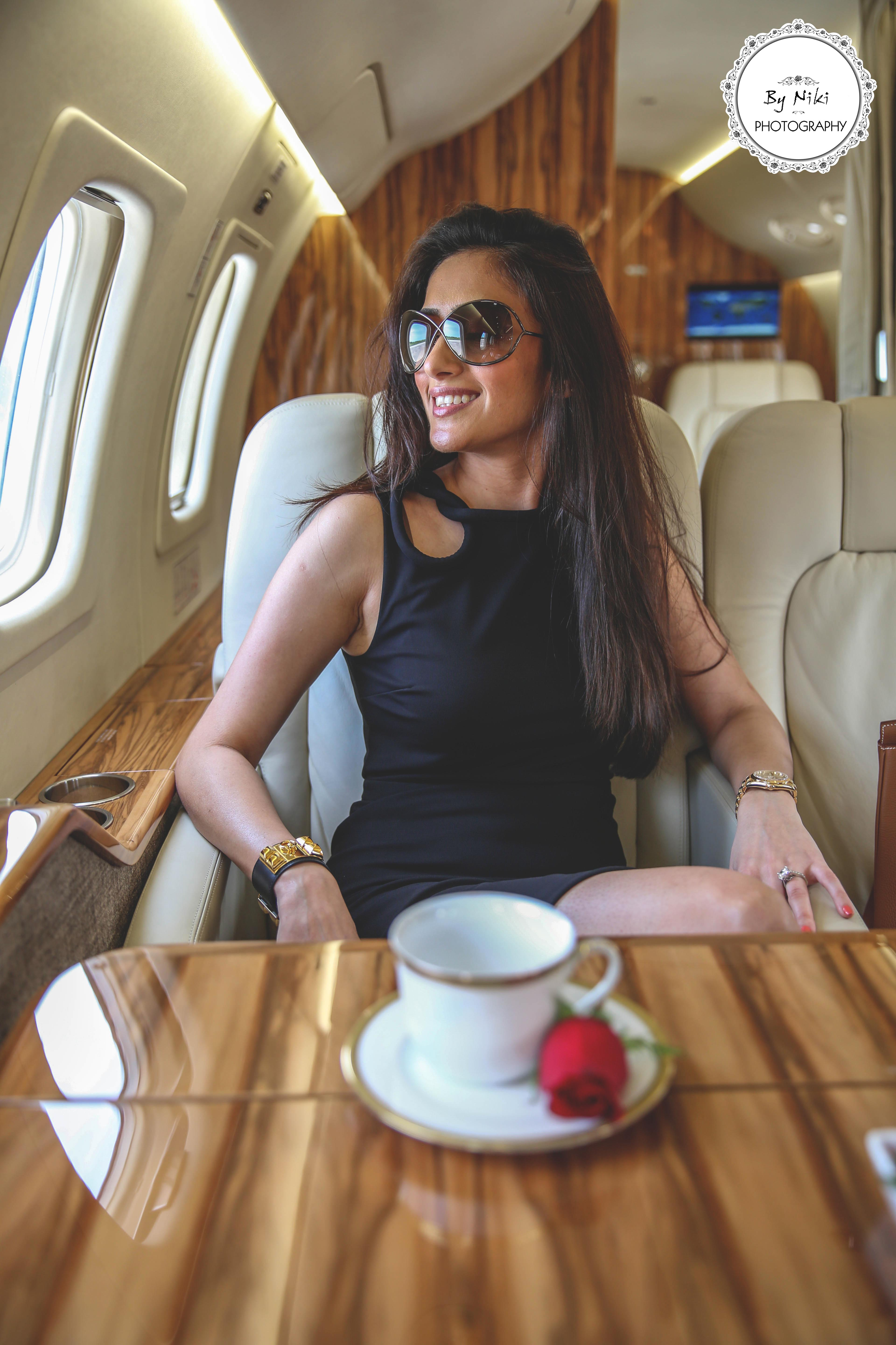 Luxury Life At 30 000 Feet By Niki Photography